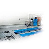 Подъемник ножничный г/п 5000 кг. напольный, платформы гладкие с люфт-детектором Ravaglioli (Италия) арт. RAV650.6.55, фото 1