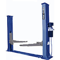 Подъемник двухстоечный г/п 5500 кг. электрогидравлический KraftWell (КНР) арт. KRW5.5ML_blue, фото 1