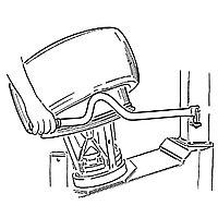 Удлиненный механический рычаг Ravaglioli (Италия) арт. G1000A53, фото 1
