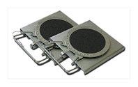 Круги поворотные усиленные для стендов 3D, 2 шт. Техновектор (Тула) арт. 008-05