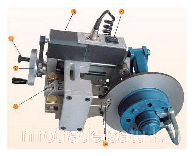Станок для проточки тормозных дисков легковых автомобилей без снятия Comec (Италия) арт. TD302 - фото 1