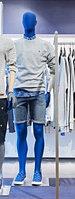 Манекен глянцевый синий