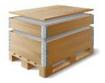 Паллетный борт или деревянный короб
