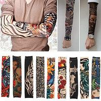 Эластичный тату-рукав, МИКС