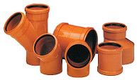 Фитинги для наружной канализации