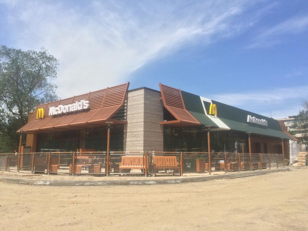 Проектирование и строительство сетей водопровода канализации McDonald's Алматы