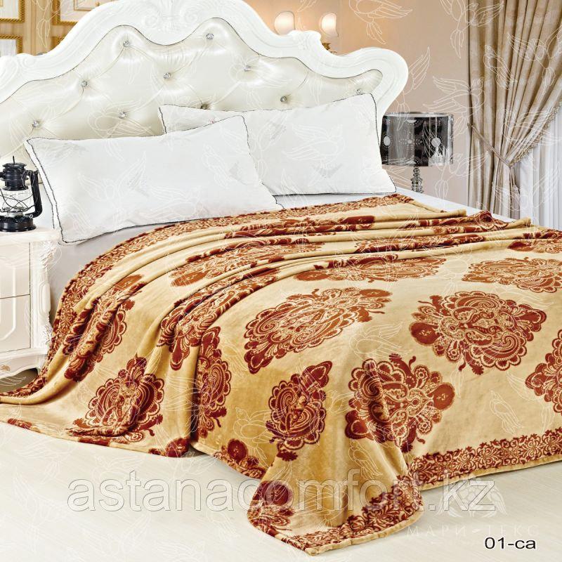 Покрывало на кровать. Велсофт. 220х240 см