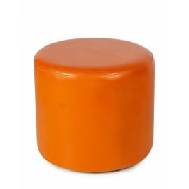 Пуфики размер 40*40 кожаные дизайн круглый