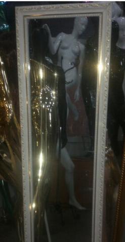 Напольное зеркало, в габеленовой рамке