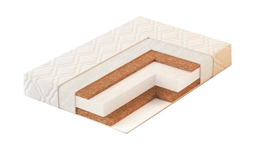PLITEX Матрас в кроватку ECO LAT (50х60х12см)
