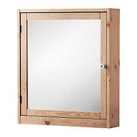 Шкафчик зеркальный СИЛВЕРОН светло-коричневый ИКЕА IKEA   , фото 1