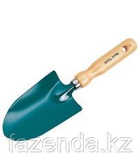 Совок широкий с деревянной ручкой RACO