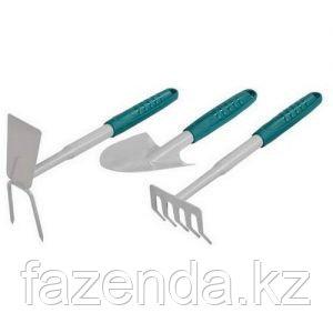 Набор RACO садовый: совок, грабельки, мотыжка