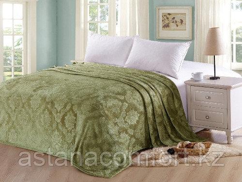 Покрывало на кровать. Велсофт. 150х220 см.