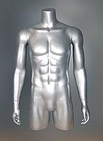 Манекен-торс трансформер 4 в 1, серебро
