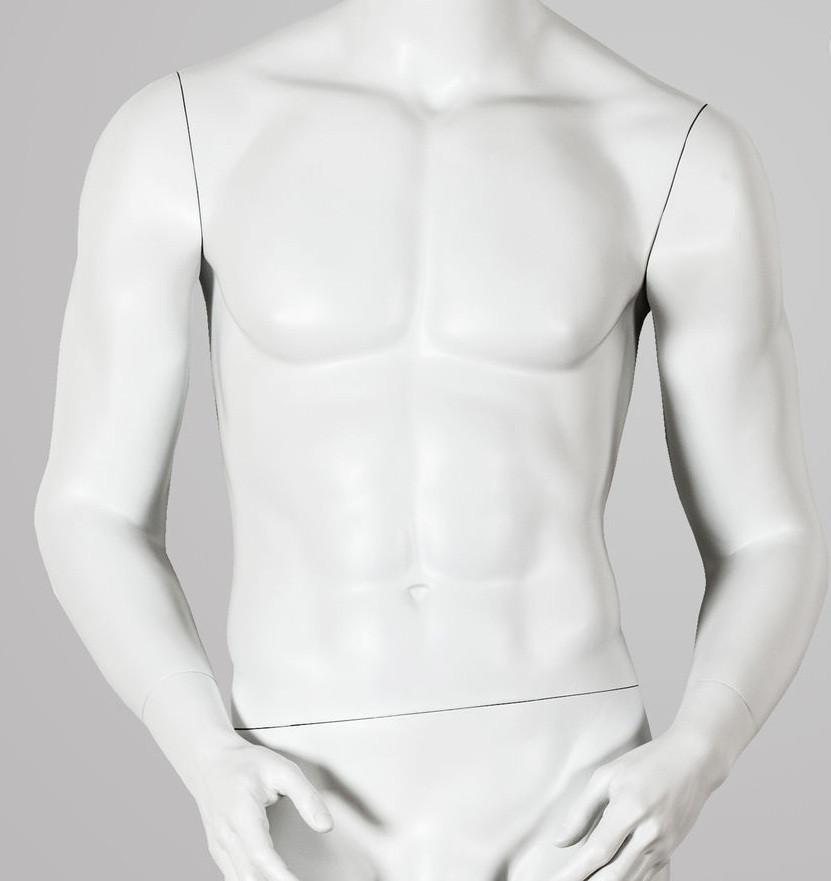 Манекен-торс трансформер 4 в 1, белый