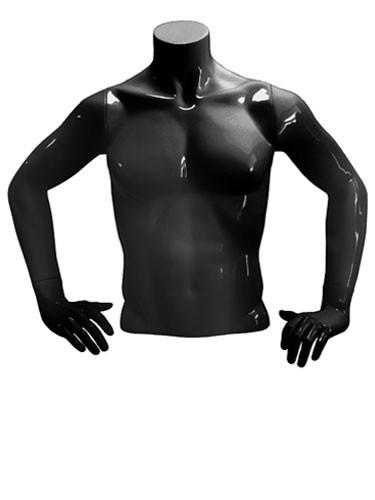 Манекен-торс трансформер 4 в 1, черный