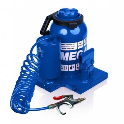 Домкрат бутылочный 30 т, пневмогидравлический MEGA MGH-30