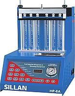 Стенд для тестирования и промывки форсунок  Sillan HP-6A