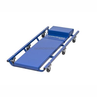 Лежак подкатной, с подъёмным подголовником NORDBERG N30C4