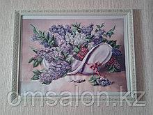 Картина бисером Сирень