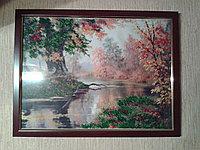 Картина бисером Осень