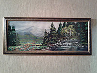 Картина бисером Пейзаж