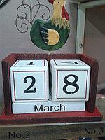 Календарь настольный в ассортименте. С петушком