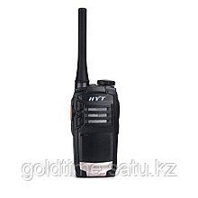 Радиостанция HYT TC-320 400-470 МГц, 16 кан., 2Вт, Li-Ion 1700 мАч, антенна (450-470 МГц), индивид. ускорение