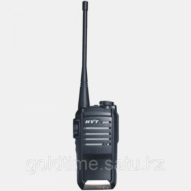 Радиостанция HYT TC-518 136-174 МГц, 16 кан., 5Вт, Li-Ion 1300 мАч, индивидуальное ускоренное з/у