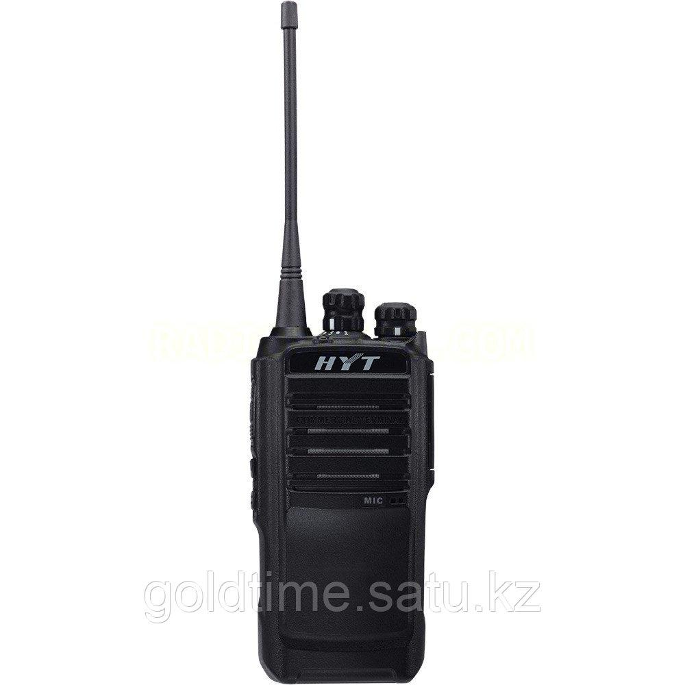 Радиостанция HYT TC-508 400-470 МГц, 16 Кан., 4Вт, Li-Ion 1650 мАч, антенна (420-470 МГц), ускоренное з/у