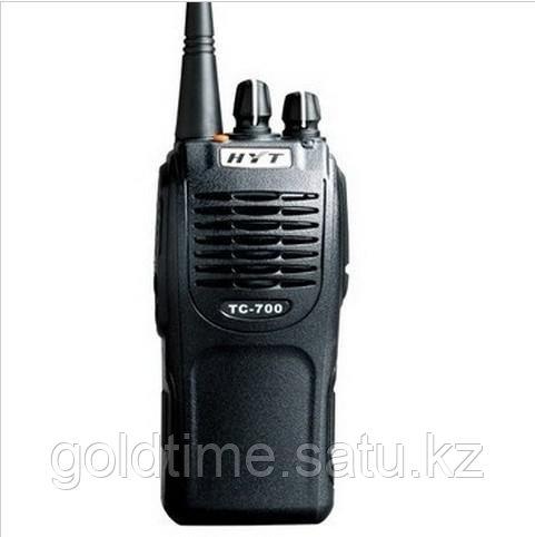 Радиостанция HYT TC-700 136-174 МГц, 16 Кан., 5Вт, Li-Ion 1700 мАч, индивидуальное ускоренное з/у