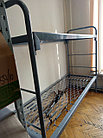 Кровать металлическая для рабочих, фото 3