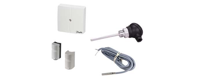 Датчики для ECL Comfort (Pt 1000 Om/°C)