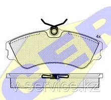 Тормозные колодки ICER 140880(REMSA 383.00)