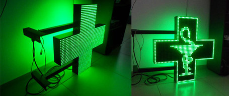 Аптечный светодиодный крест, фото 2