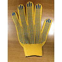 Перчатки х/б  с пупырышками
