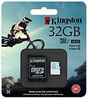 Карта памяти MicroSD 32GB Class 10 U3 Kingston SDCAC/32GB 90 MB/s, 600x, фото 1