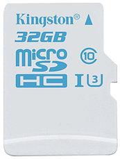 Карта памяти MicroSD 32GB Class 10 U3 Kingston SDCAC/32GB 90 MB/s, 600x, фото 2
