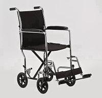 Кресло-каталка инвалидное, рама - сталь 2000, фото 1