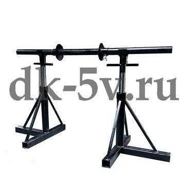 ДКВ-2К Домкрат кабельный винтовой, г/п до 2000 кг, тип - кабельные козлы