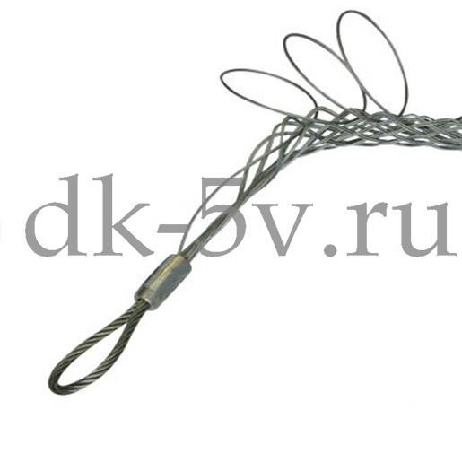 Разъемный (проходной) кабельный чулок КЧР30/1,⌀20-30мм, L=900мм, 1 петля МАЛИЕН