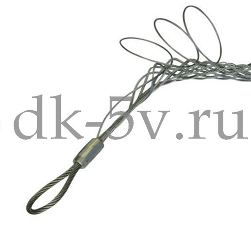 Разъемный (проходной) кабельный чулок КЧР95/1,⌀80-95мм, L=900мм, 1 петля