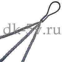КЧ20/3, Тройной кабельный чулок для 3х кабелей, 10-20мм, L=1000мм, 1 петля