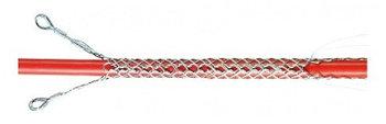 Разъемный кабельный чулок удлиненный КЧР20/2У, D 10-20 мм, L=1000 мм, 2 петли