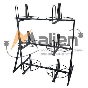СБР 6-0,4-30 Стеллаж для хранения и размотки бухт кабеля МАЛИЕН