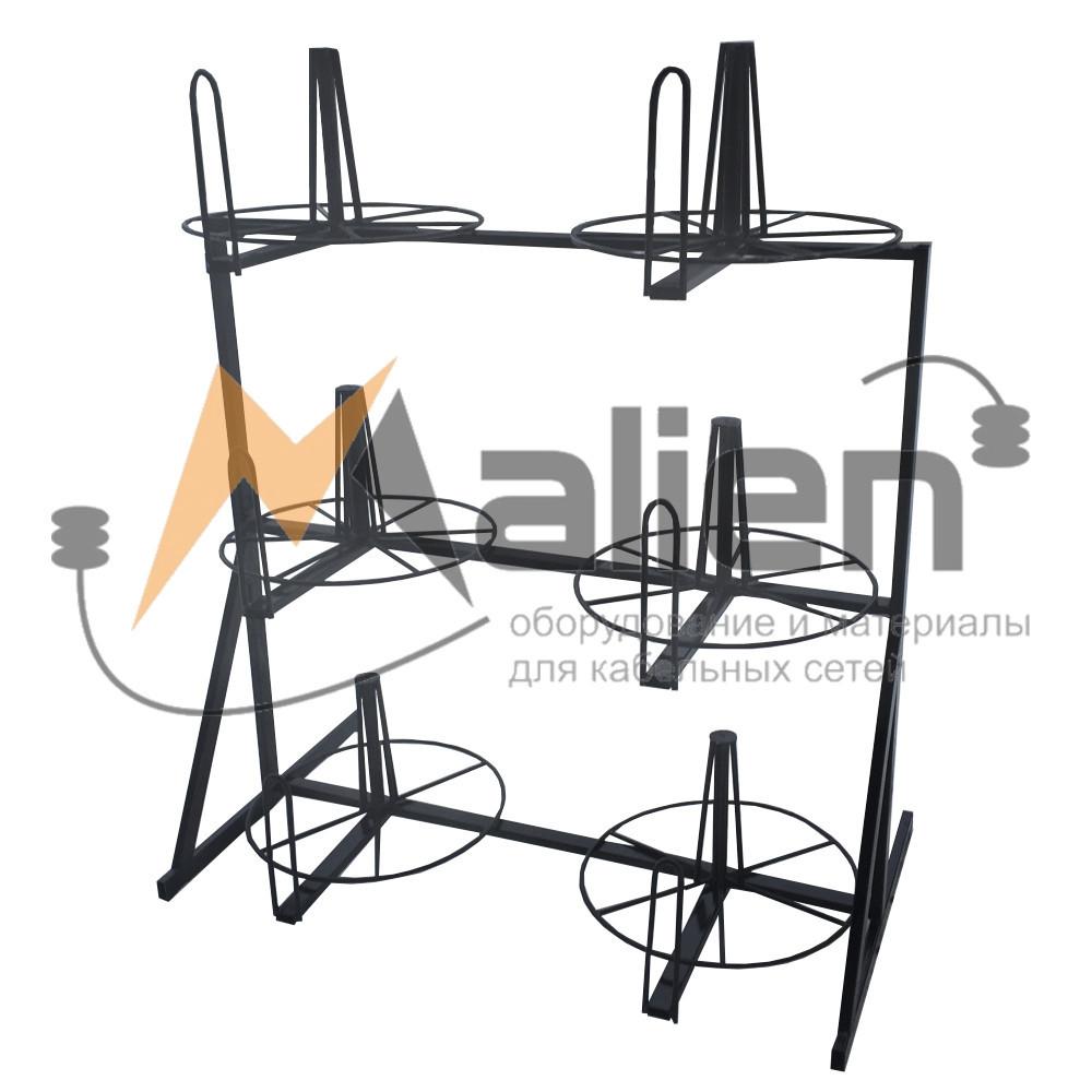 СБР 6-0,6-30 Стеллаж для хранения и размотки бухт кабеля МАЛИЕН