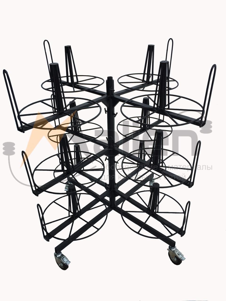 СБР 12-0,7-50 Стеллаж для хранения и размотки бухт кабеля МАЛИЕН