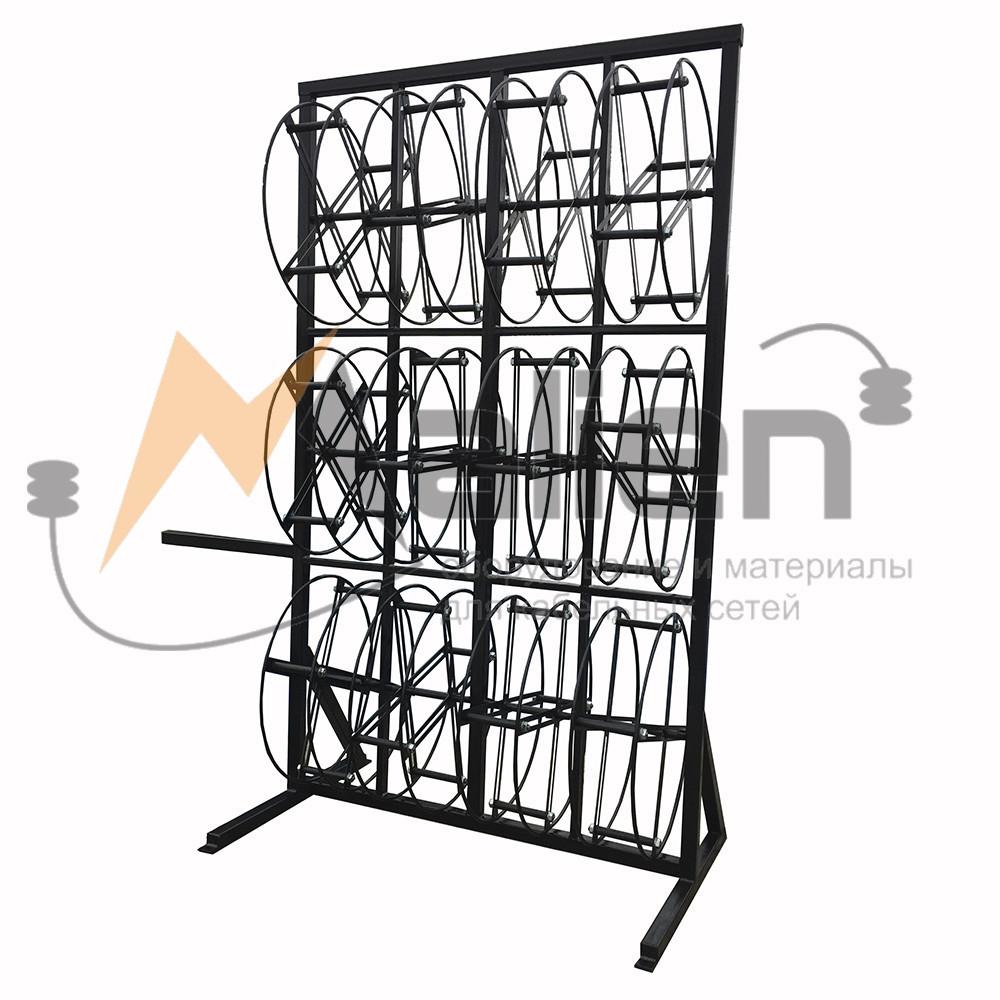 СБРМ-12 Стеллаж для хранения и размотки бухт кабеля МАЛИЕН