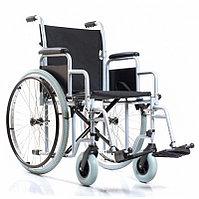 Кресло-коляска комнатное с цельнорезиновыми колёсами Base 110 (сиденье 46 см) , фото 1